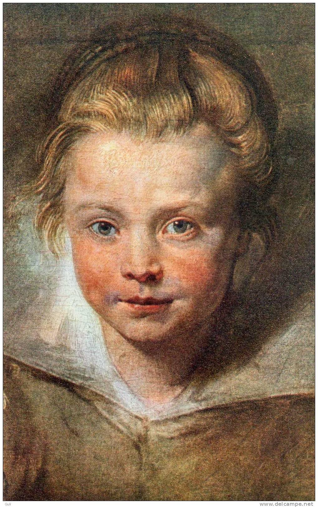 Enfant Enfants-COMITE NATIONAL De L´ENFANCE- RUBENS Portrait D´enfant (Liechtensteinsche Galerie) (peinture)*PRIX FIXE - Enfants