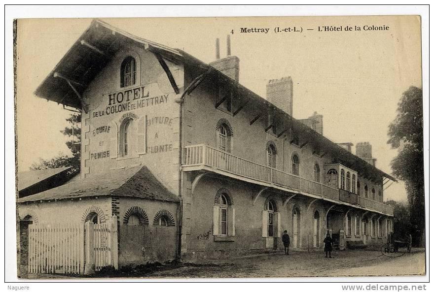 37   METTRAY  L HOTEL DE LA COLONIE - Mettray