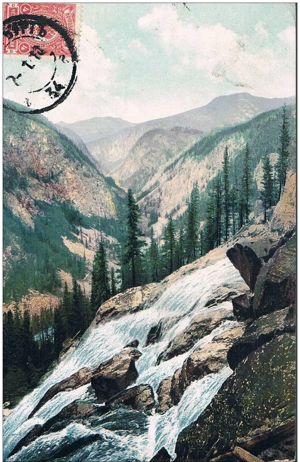 Carte Postale Ancienne - Une Vallée De La Rivière Biälaïa Berela - Altaï - Rusia