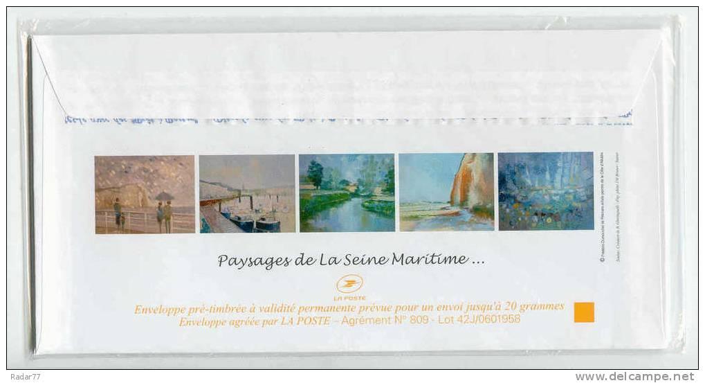 Série De 5 PAP Paysages De Seine-Maritime Par Dumouchel Neufs Sous Blister (5 Visuels Différents) - Ganzsachen