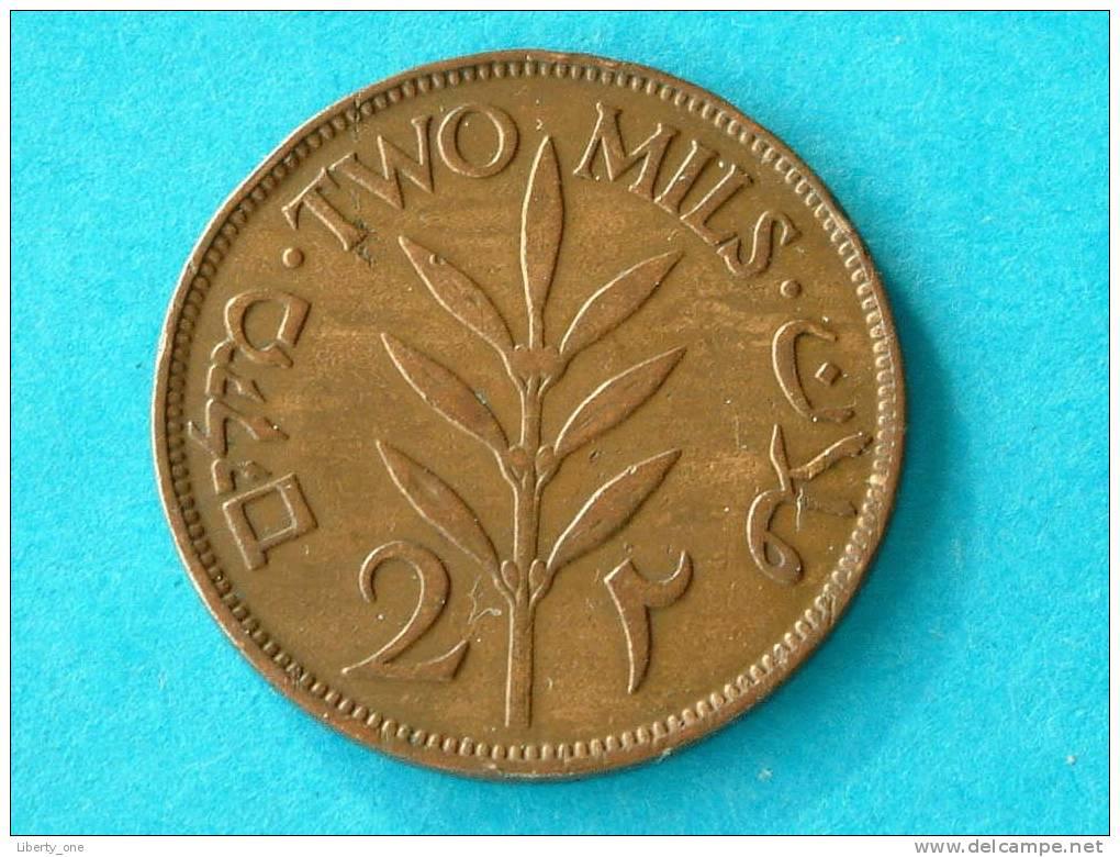 2 MILS PALESTINE 1927 / KM 2 (  For Grade, Please See Photo ) !! - Monnaies