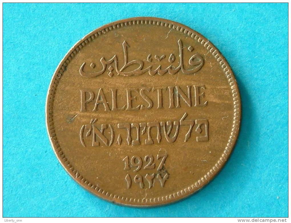2 MILS PALESTINE 1927 / KM 2 (  For Grade, Please See Photo ) !! - Autres – Asie