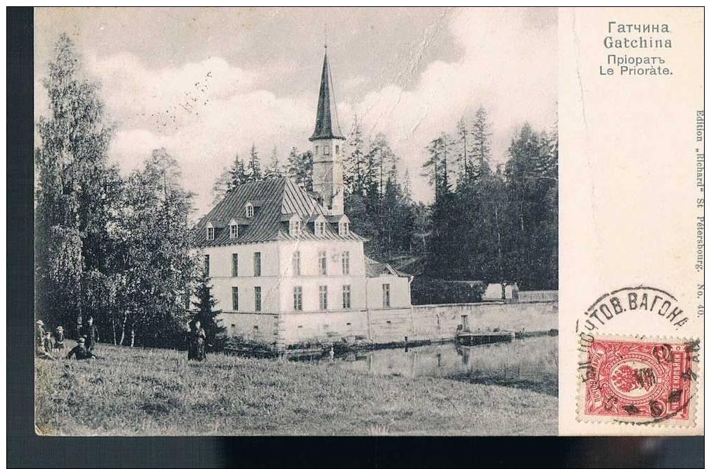 Carte Postale Ancienne - RUSSIE - Gatchina - Le Priorate - Rusia