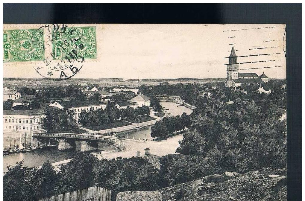Carte Postale Ancienne - RUSSIE/FINLANDE - Turku/ Abö - Rusia