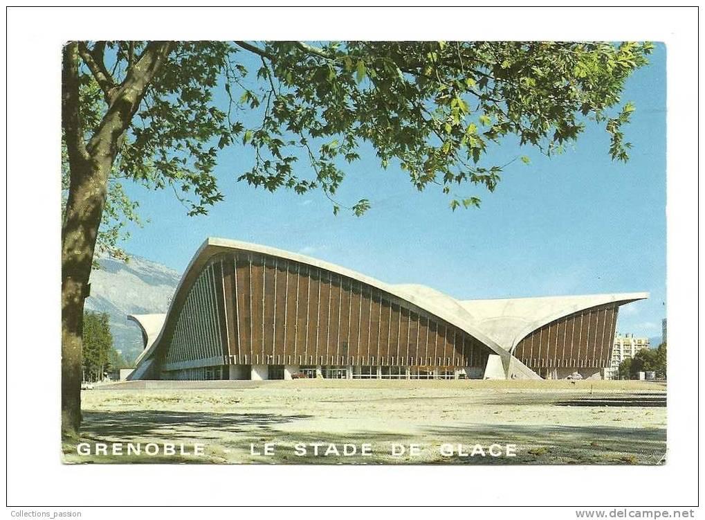 Cp, 38, Grenoble, Le Stade De Glace - Grenoble