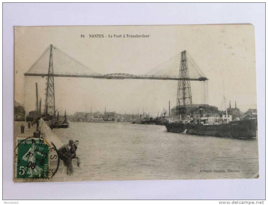 NANTES - Le Pont Transbordeur. - Nantes