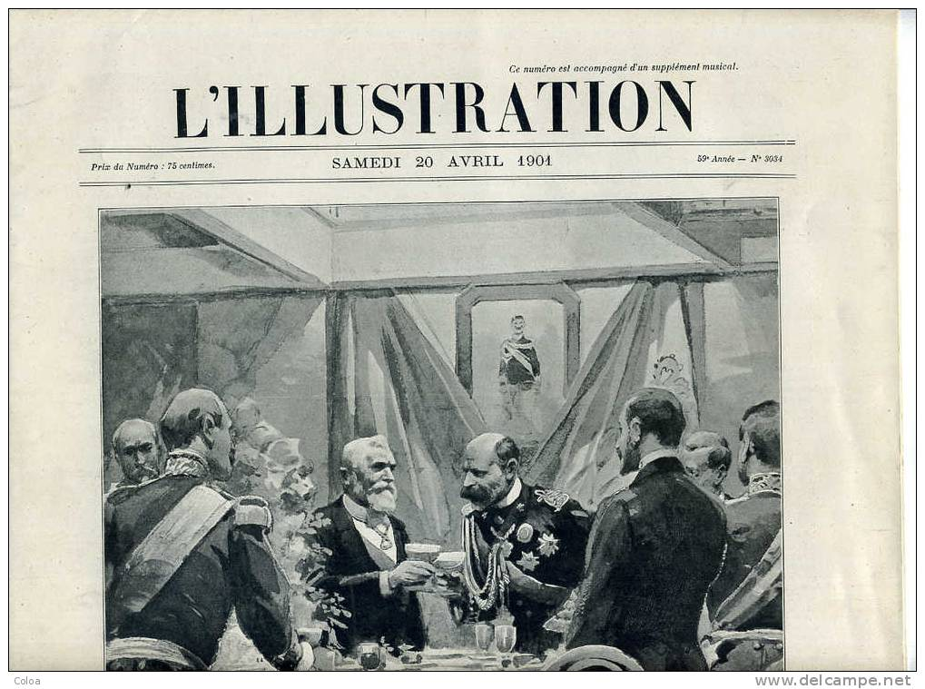 Tunisie Procession Des Saintes Martyres 1901 - Magazines - Before 1900