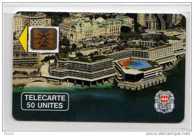 Télécarte De Monaco 50 Unités – Palais Des Congrès - Monaco