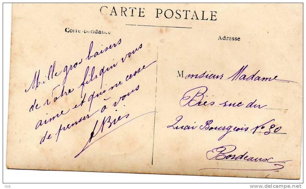 Tunisie FERRYVILLE (Bizerte) Militaria-Hopital Sidi Abdallah Compagnie D´Orient 1915- Uniformes- Honneur Aux Blessés - Tunisie