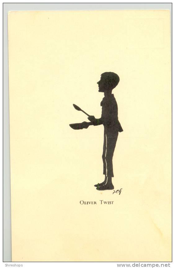 Oliver Twist Silhouette Delcampe Net