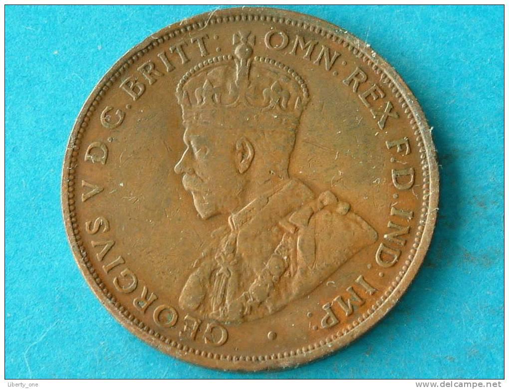 ONE PENNY 1922 - KM 23 ( For Grade, Please See Photo ) ! - Monnaie Pré-décimale (1910-1965)