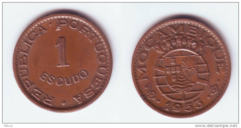 Mozambique 1 Escudo 1953 - Mozambique