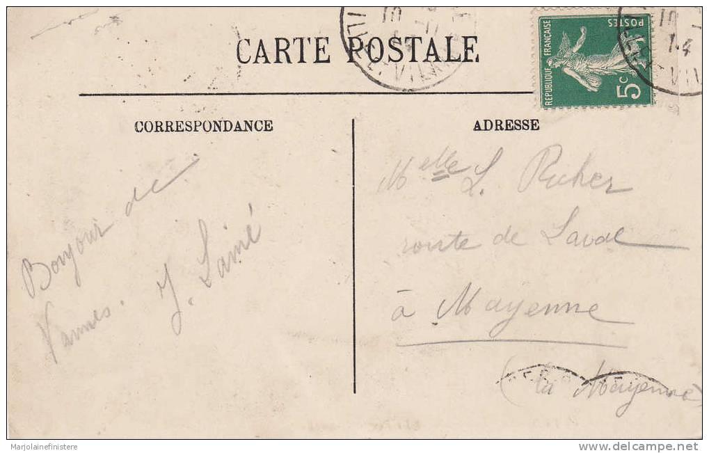 Dép. 56 - Vannes. - La Tour Du Connétable Et Les Remparts. - LL N° 5 Voyagée 1914 - Vannes