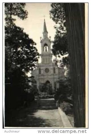 Photo 8,7 X 6,2 Saigon 1949 - église St François à Cholon Au Bout De La Rue Des Marins - Vietnam