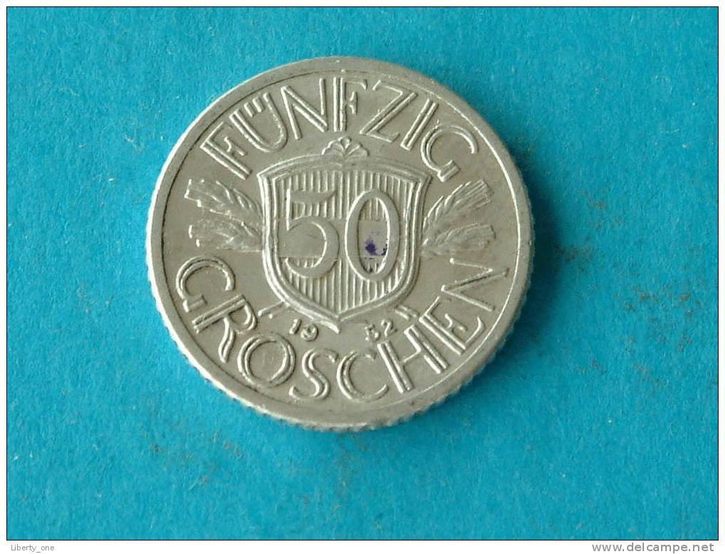 1952 - 50 GROSCHEN - KM 2870 ( For Grade, Please See Photo ) ! - Autriche