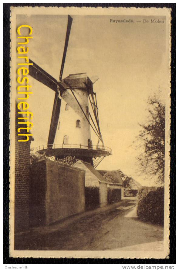 RUYSSELEDE - RUISLEDE -- DE MOLEN - Ruiselede