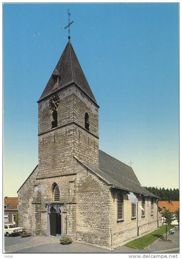 Opwijk -  Mazenzele : De St. Pieterskerk    ( Groot Formaat ) - Opwijk