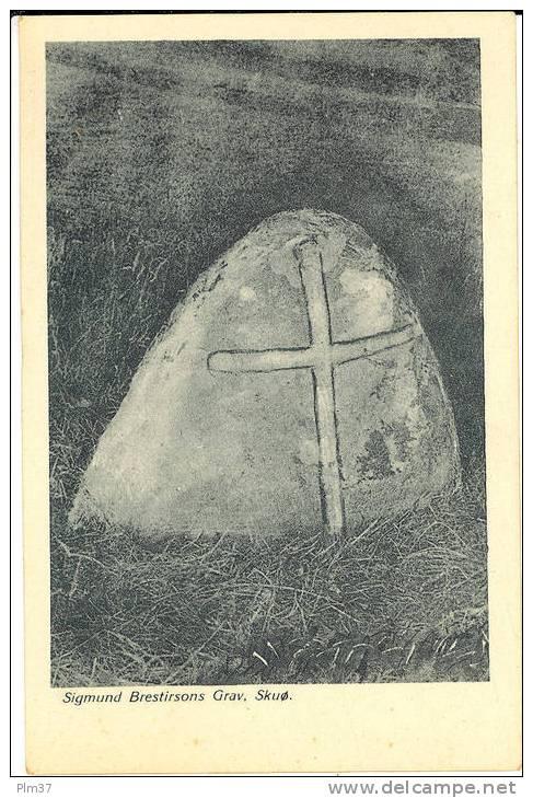 Sigmund Brestirsons Grav. - Féroé (Iles)
