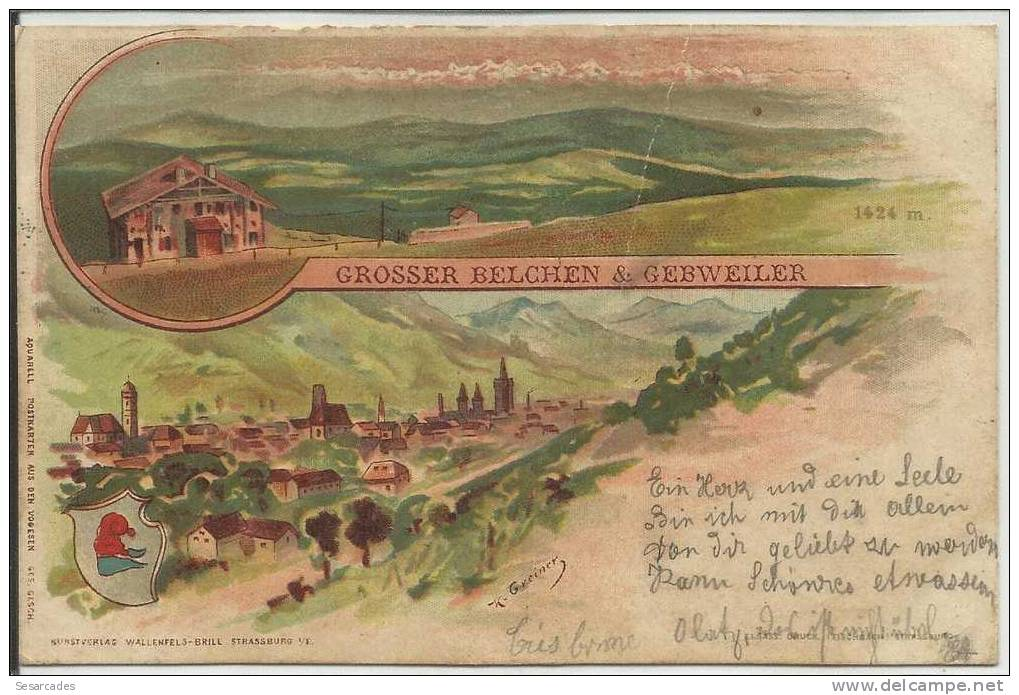 Grosser Belchen & Gebweiler (Guebwiller) - Mulhouse