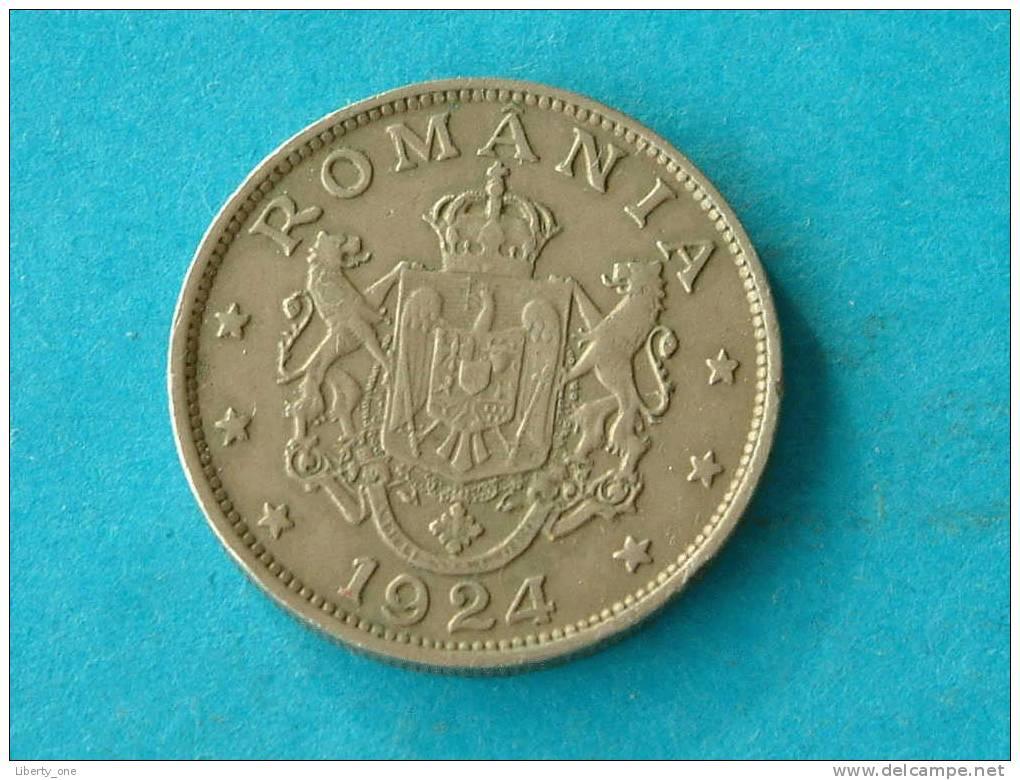 1924 - 2 LEI / KM 47 ( Details Zie Foto ) ! - Roumanie