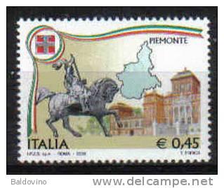Italia 2006 Regioni D´Italia - Piemonte Nuovo Perfetto - 2001-10:  Nuovi