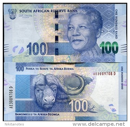 SOUTH AFRICA 100 RAND 2012 P NEW NELSON MANDELA UNC - Altri – Africa