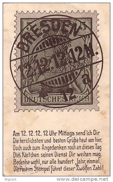 DR Sonderkarte Dresden EF Minr.85I Dresden 12.12.12 Ansehen !!!!!!!!! - Deutschland