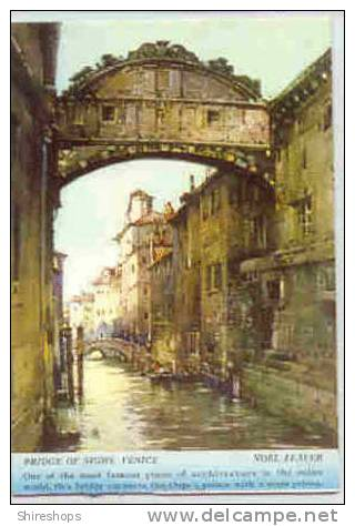 Bridge Of Sighs Venice Postcard Blotter - Blotters