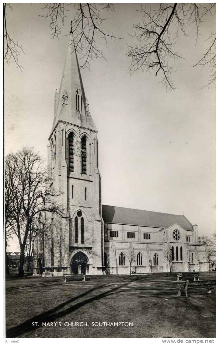 HANTS - SOUTHAMPTON -  ST MARY´S CHURCH RP  Ha248 - Other