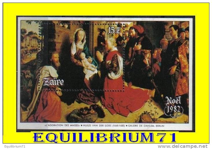 BL53** (1180) -Noël / Kerstmis - ZAIRE - 1980-89: Neufs