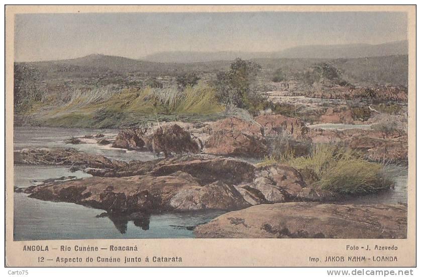 Afrique - Angola - Rio Cunéne - Roacana - Angola