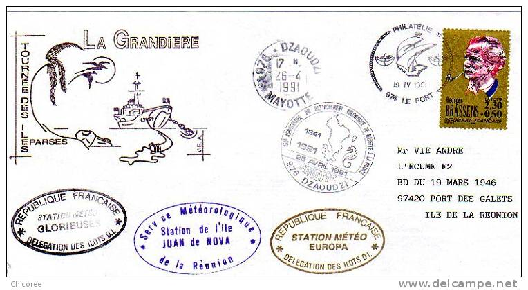TAAF Iles Eparses - Ravitaillement Des îles - La Grandière - Impeccable - Non Classificati