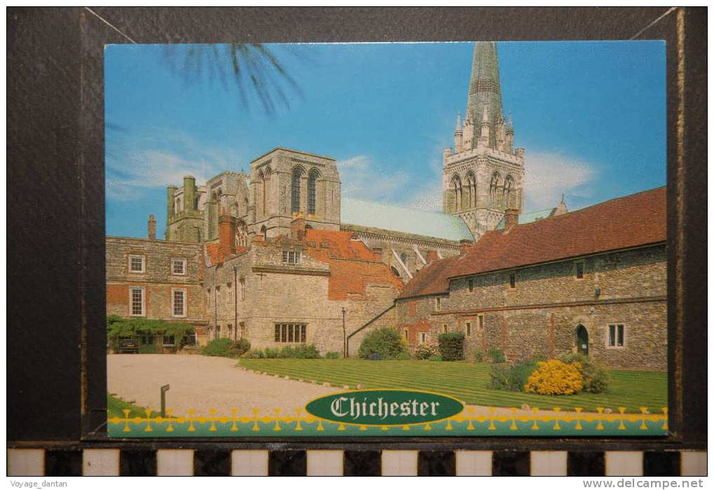 SUSSEX CHICHESTER  CATHEDRAL - Chichester