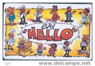 # SOUTH_AFRICA TGAG Make That Call, Say  Hello  10 Gpt   Tres Bon Etat - Afrique Du Sud