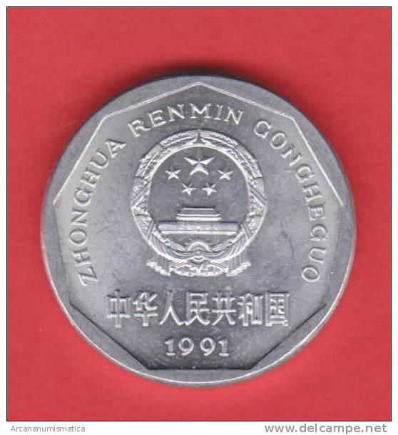CHINA  1  JIAO  1.991   ALUMINIO   KM#328     SC/UNC    DL-9805 - China