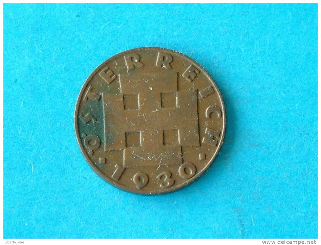 1930 - 2 GROSCHEN / KM 2837  ( For Grade, Please See Photo ) !! - Autriche