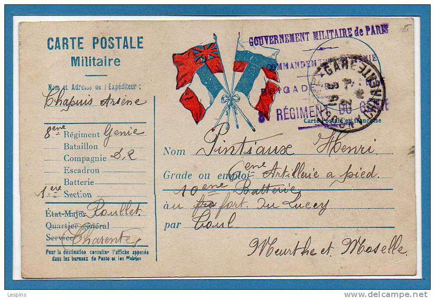 Franchise Militaire - Cartes De Franchise Militaire