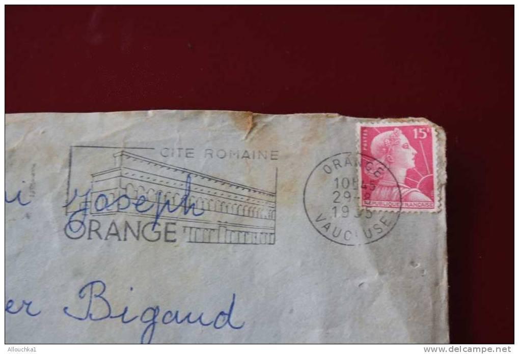 MILITARIA LETTRE COVER FM CACHET MILITAIRE 11é REGIMENT DE CUIRRASSIER 2é ESCADRON FLAMME ORANGE - Marcophilie (Lettres)