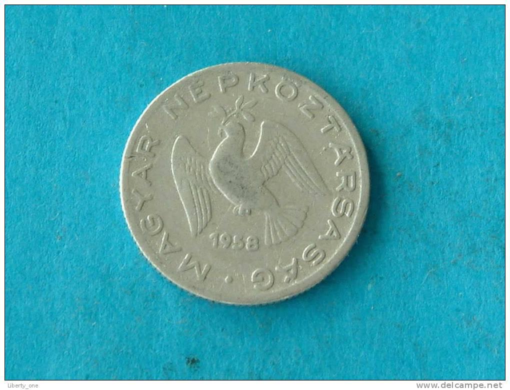 1958 - 10 FILLER / KM 547 ( For Grade, Please See Photo ) !! - Hongrie