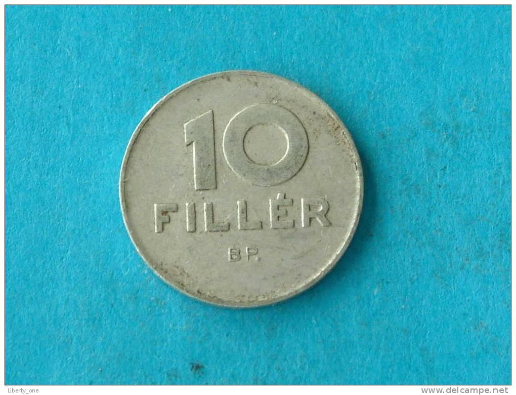1969 - 10 FILLER / KM 572 ( For Grade, Please See Photo ) !! - Hongrie