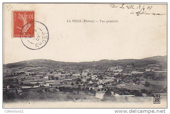 LA VILLE ... VUE GENERALE - France