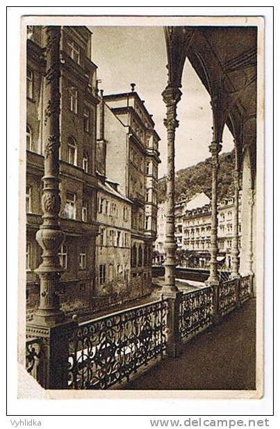 Karlovy Vary Prucelni Balkonovy Pohled - Tschechische Republik