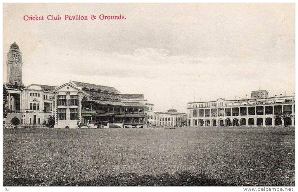 Asie > Singapour-Singapore-Cricket Club Pavilion And Grounds ( Sport Sports) - Editions:John Little And Co Ltd Singapore - Singapour
