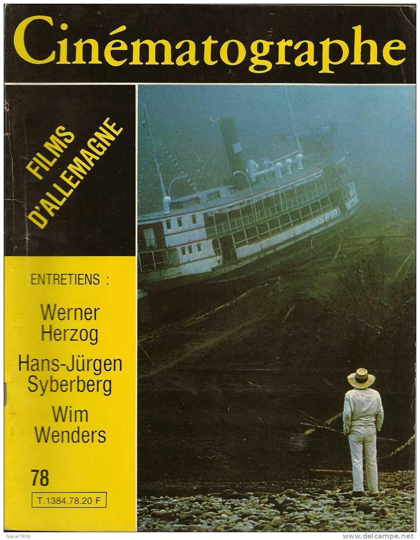 Cinématographe N°78 De Mai 1982 - Cine