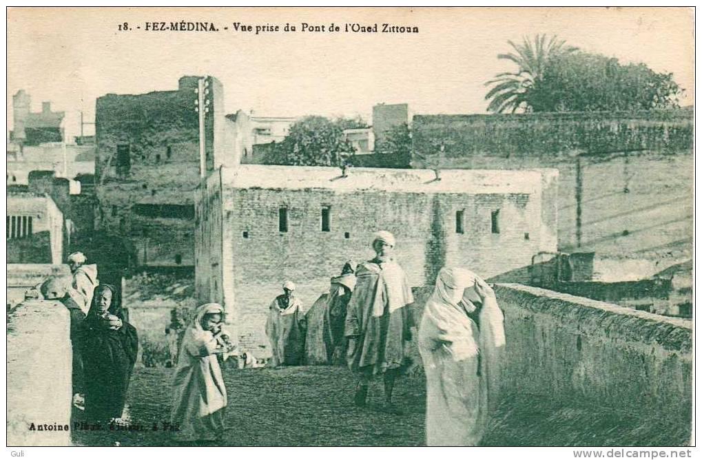 Afrique > Maroc > Fez (Fès)  FEZ-MEDINA-Vue Prise Du Pont De L´Oued Zittoun *PRIX FIXE - Fez (Fès)