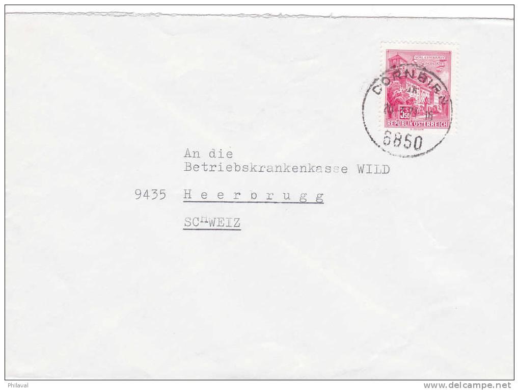 Lettre D' Autriche Pour La Suisse - 1945-.... 2ème République