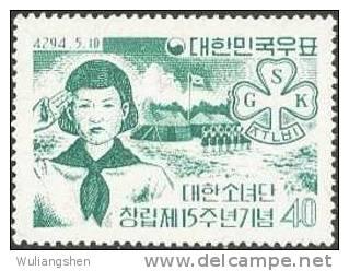 XP1857 Korea 1958 Girl Scouts 1v MNH - Unclassified