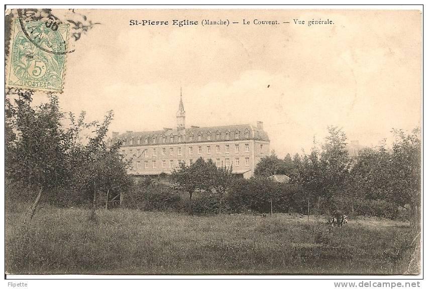 L700.2603 - Saint-Pierre Eglise - Le Couvent - Vue Générale - Saint Pierre Eglise