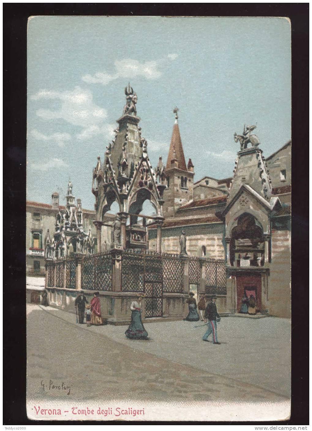 VERONA Tombe Degli Scaligeri  (G. Pavolon) - Verona