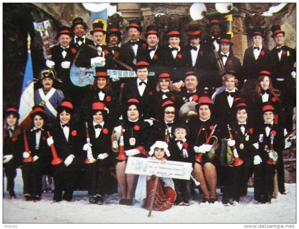 Cpsm,cpm  57 GUENANGE     L ORPHEON Des BIGOPHONES  President M. MASSARO J.-L. - France